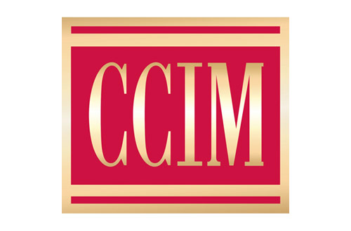 CCIM Logo - Red square with serif type inside with gold gradient