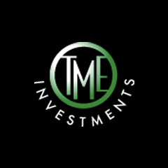 TME Investments Logo - Uppercase TME Inside Green Circle With White Type Below